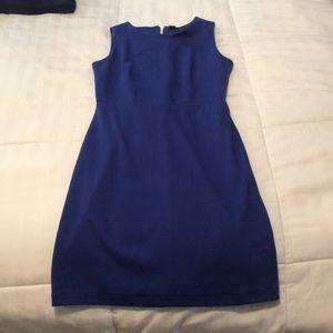 Blue Old Navy sheath dress.